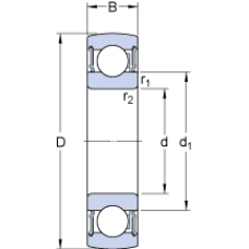 Подшипник 1726309-2RS1