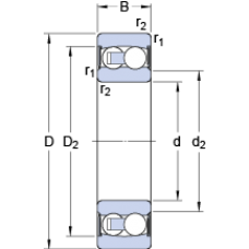 Подшипник 2202 E-2RS1TN9