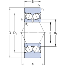 Подшипник 305707 C-2Z