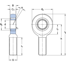 Подшипник SA 6 C
