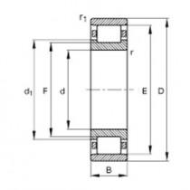 Подшипник STR S153401-1-5X4-F2